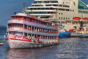 Temporada de Cruzeiros 2019/2020 terá vinda de mais de 20 mil turistas em 16 navios, dizAmazonastur