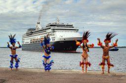 Turismo de cruzeiro: R$ 10 milhões injetados na economia amazonense