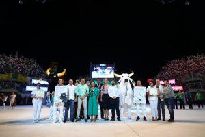 Festival Folclórico de Parintins encanta público de 40 mil pessoas, nos três dias de apresentações