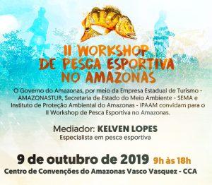 Amazonastur, em parceria com Sema e Ipaam, realiza o 2º Workshop de Pesca Esportiva do Amazonas