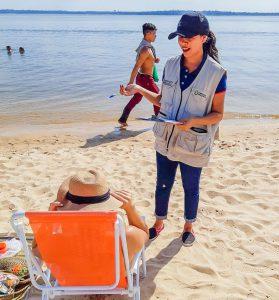 Amazonastur realiza pesquisas junto a turistas e moradores durante a Festa do Guaraná