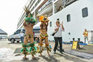 Mais de 1,1 mil turistas desembarcam em Manaus a bordo do cruzeiro M/S Seven Seas Mariner