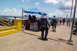 Politur realiza ação para cumprimento de decretos sobre transporte fluvial
