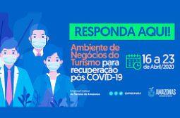 Amazonastur desenvolve pesquisa junto ao trade para a recuperação econômica do setor