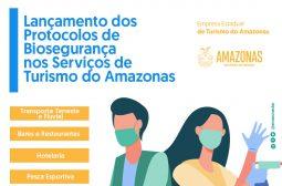 Amazonastur lança Protocolo de Biossegurança para segmentos de turismo no estado