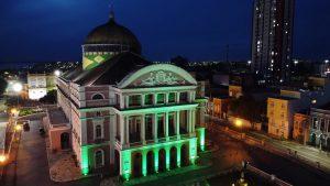 Teatro Amazonas abre para visitação turística noturna