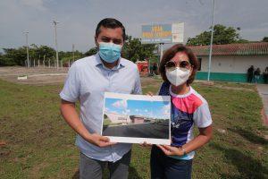 Wilson Lima anuncia reforma do aeroporto do município de Barcelos