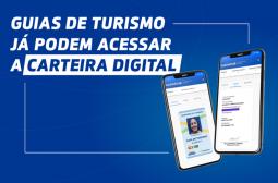 Guias de turismo já podem acessar a nova funcionalidade da carteira digital