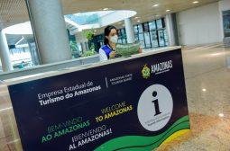 Amazonastur reativa Centros de Atendimento ao Turista (CATs) no Centro e Aeroporto